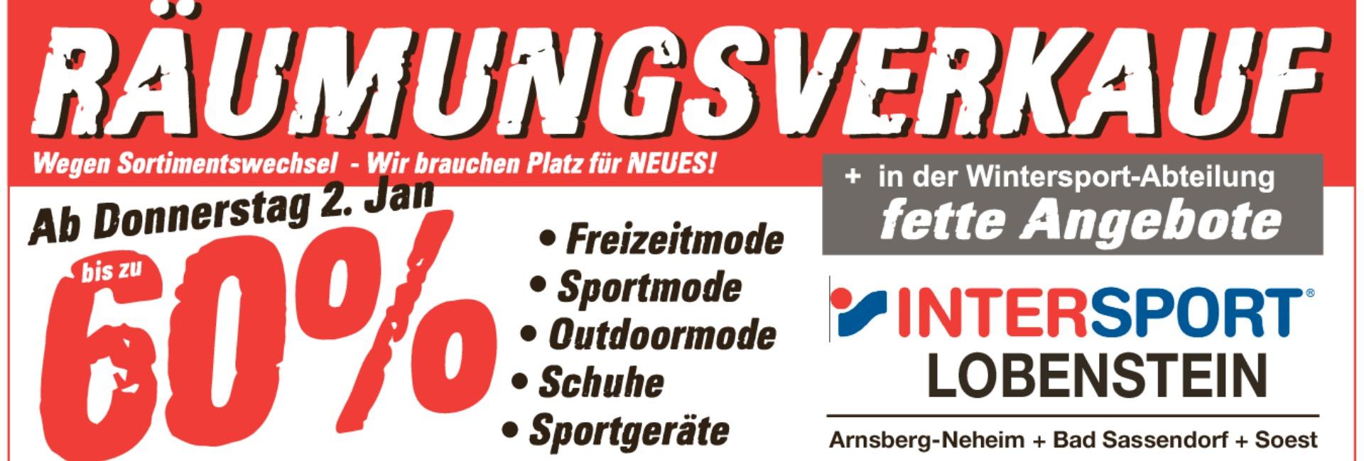 INTERSPORT LOBENSTEIN: Sportgeschäft in Soest